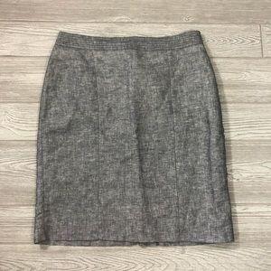 Banana Republic • Linen Blend Careen Pencil Skirt